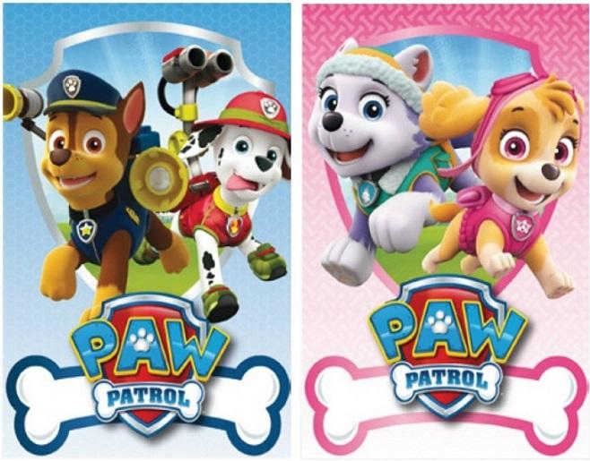 paw patrol official boys   girls 150cm x 100cm soft fleece blankets  skye   everest  or  chase fancy clip art letters fancy clip art borders